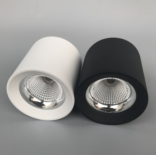 Round surface LED downlight