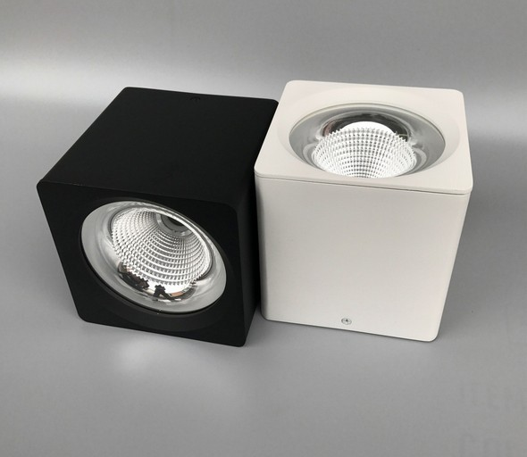 Square surface LED downlight